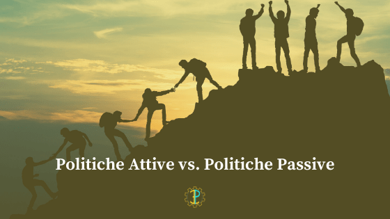 Politiche del lavoro: politiche attive vs.passive