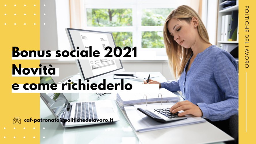 Bonus sociale 2021